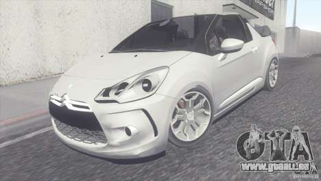 Citroen DS3 Convertible für GTA San Andreas