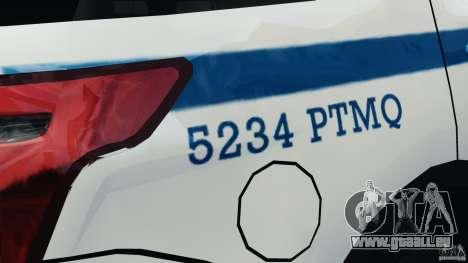 Ford Explorer NYPD ESU 2013 [ELS] pour GTA 4