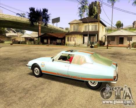Citroen SM 1971 pour GTA San Andreas vue de droite