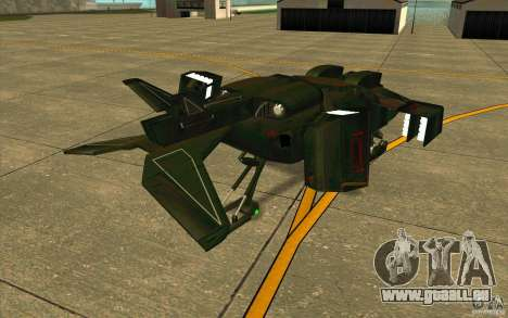 Aliens vs. Predator Marine Drobship pour GTA San Andreas vue de droite