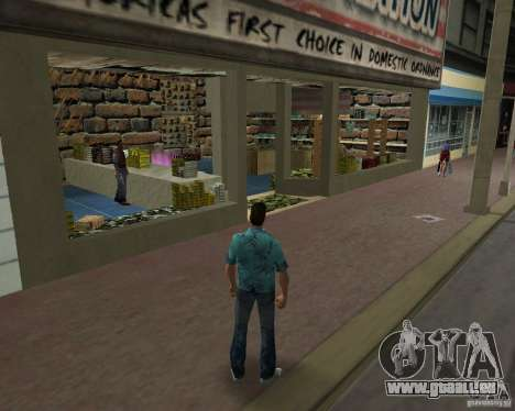 New Downtown: Ammu Nation für GTA Vice City zweiten Screenshot