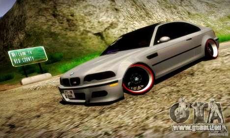 BMW M3 JDM Tuning für GTA San Andreas Seitenansicht