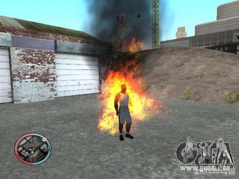 Masquage pour GTA San Andreas troisième écran