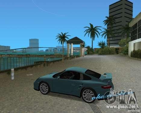 Porsche 911 GT2 pour une vue GTA Vice City de la droite