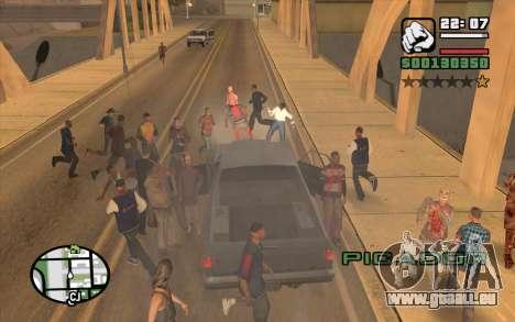 Resident Evil Dead Aim pour GTA San Andreas