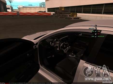 Mitsubishi Lancer Evolution X pour GTA San Andreas vue de côté
