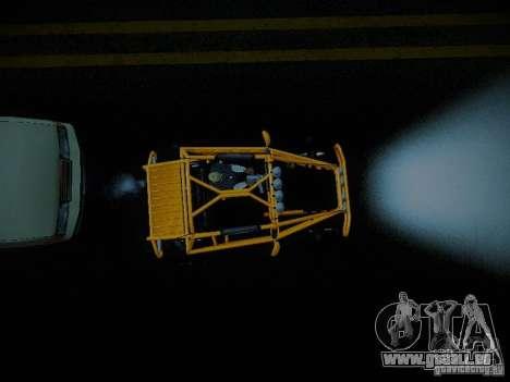 Buggy From Crash Rime 2 für GTA San Andreas Rückansicht