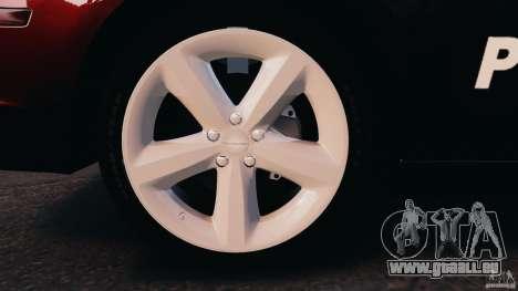 Dodge Charger RT Max Police 2011 [ELS] für GTA 4 linke Ansicht