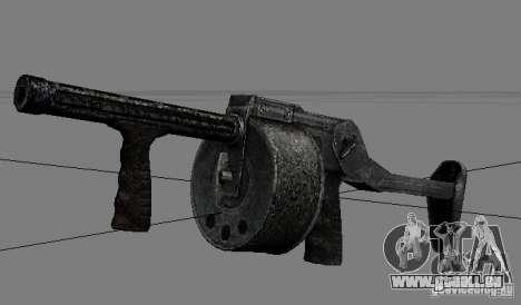 Une série d'armes de stalker V2 pour GTA San Andreas sixième écran