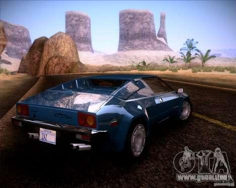 Lamborghini Jalpa 3.5 1986 für GTA San Andreas linke Ansicht