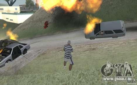 Vague de feu pour GTA San Andreas troisième écran