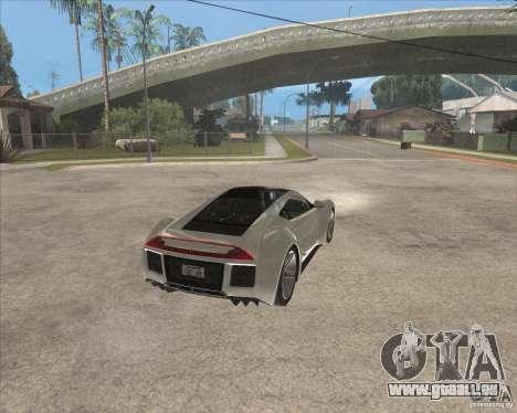 Saleen S5S Raptor pour GTA San Andreas vue de droite