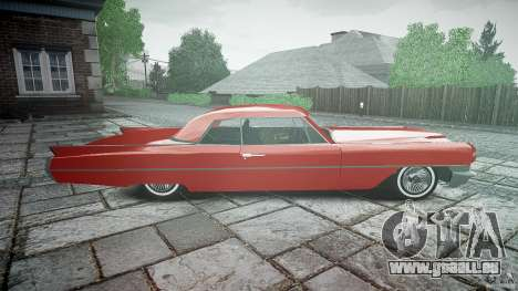 Cadillac De Ville v2 pour GTA 4 est une vue de l'intérieur