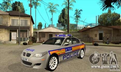 Metropolitan Police BMW 5 Series Saloon für GTA San Andreas