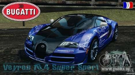 Bugatti Veyron 16.4 Super Sport 2011 v1.0 [EPM] pour GTA 4