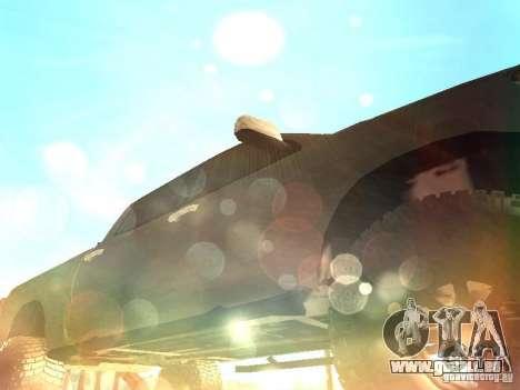 Toyota Tacoma 2011 für GTA San Andreas obere Ansicht