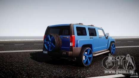 Hummer H3 für GTA 4 obere Ansicht