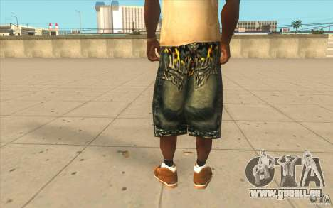 The BIG Makaveli Short Jeans für GTA San Andreas dritten Screenshot