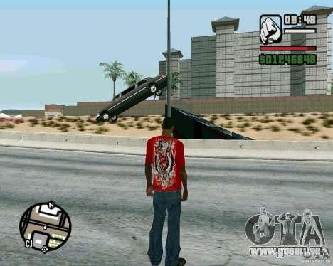 Springt auf der Autobahn in Las Venturase für GTA San Andreas zweiten Screenshot