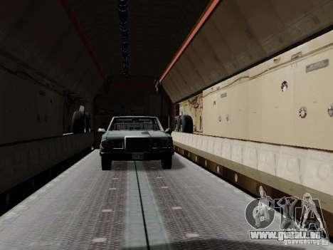 Iljuschin Il-76td für GTA San Andreas Seitenansicht