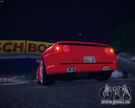 Ferrari F355 Spyder pour GTA San Andreas vue arrière