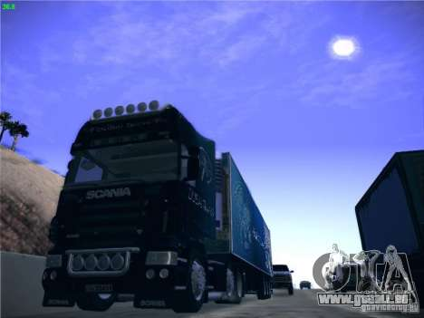 Scania R620 Dubai Trans pour GTA San Andreas