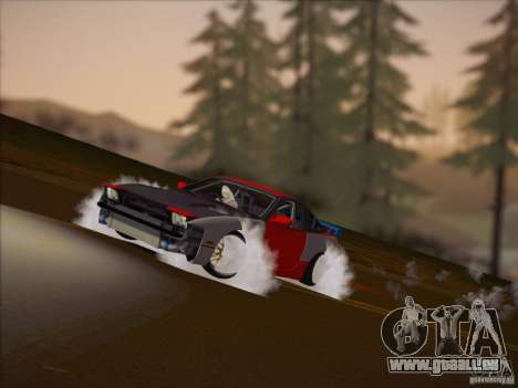 Nissan RPS13 Drift Korch für GTA San Andreas zurück linke Ansicht