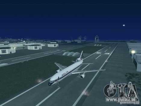 L1011 Tristar Delta Airlines für GTA San Andreas rechten Ansicht