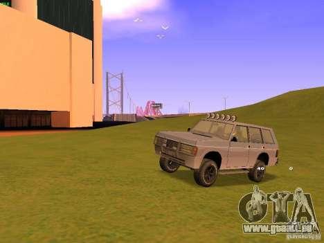 Huntley Superior für GTA San Andreas Räder