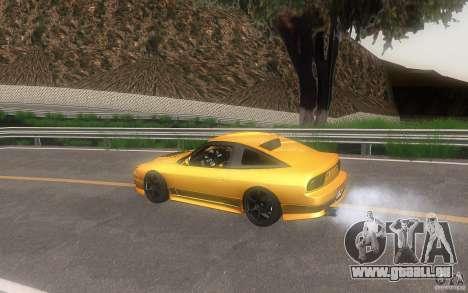 Nissan 180sx v2 pour GTA San Andreas vue de côté