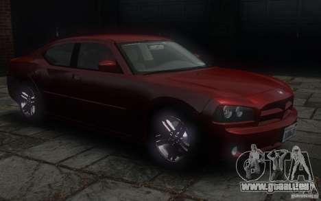 Dodge Charger RT Hemi 2008 für GTA 4 Seitenansicht
