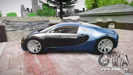 Bugatti Veyron 16.4 v3.0 2005 [EPM] Strasbourg für GTA 4 Innenansicht