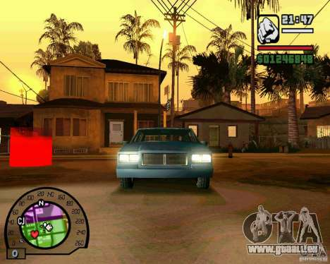 IV High Quality Lights Mod v2.2 für GTA San Andreas dritten Screenshot