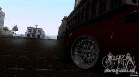 Volkswagen Sirocco pour GTA San Andreas vue de droite
