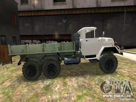 ZIL 131 für GTA 4 Innenansicht