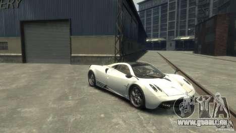 Pagani Huayra für GTA 4 hinten links Ansicht