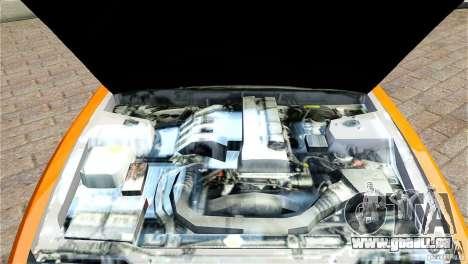 Nissan Sil1480 Drift Spec pour GTA 4 est une vue de l'intérieur