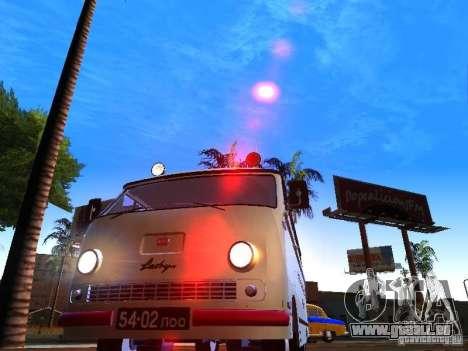 Urgence de RAPH-977IM pour GTA San Andreas vue arrière