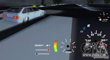 Eine einzigartige Tacho für GTA San Andreas her Screenshot
