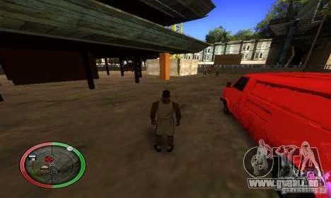 NEW STREET SF MOD pour GTA San Andreas septième écran