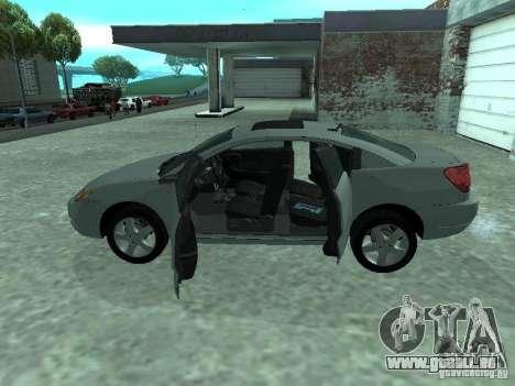 Saturn Ion Quad Coupe 2004 für GTA San Andreas Innenansicht