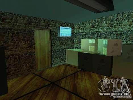 Nouvelle barre de textures UFO pour GTA San Andreas deuxième écran