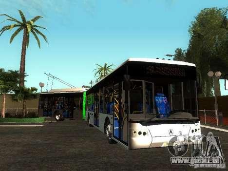 Trolleybus LAZ E301 für GTA San Andreas