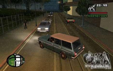 Universal Rückleuchten für GTA San Andreas zweiten Screenshot