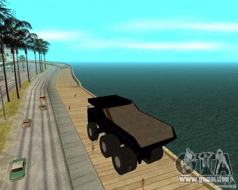 Dumper pour GTA San Andreas laissé vue