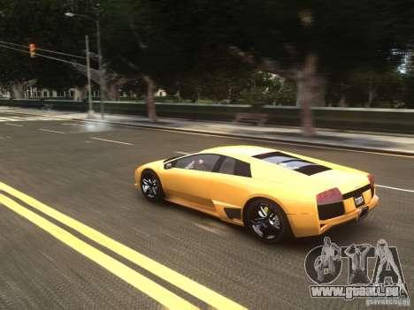 Lamborghini Murcielago LP640 2007 pour GTA 4 est une vue de l'intérieur