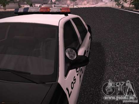 Ford Crown Victoria Police 2003 pour GTA San Andreas vue arrière