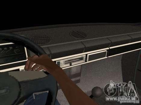 VAZ 21011 pour GTA San Andreas vue de dessus