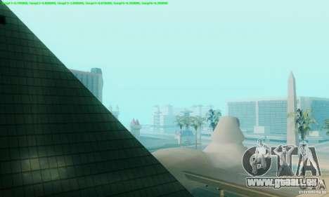 Marty McFly ENB 2.0 California Sun pour GTA San Andreas quatrième écran