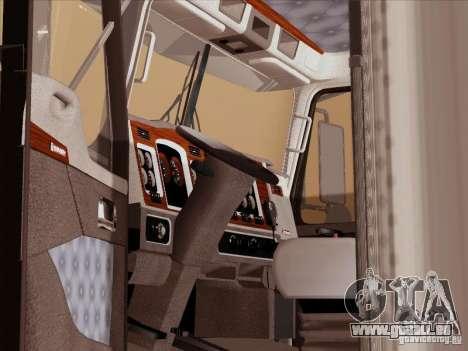 Kenworth T800 für GTA San Andreas Innenansicht
